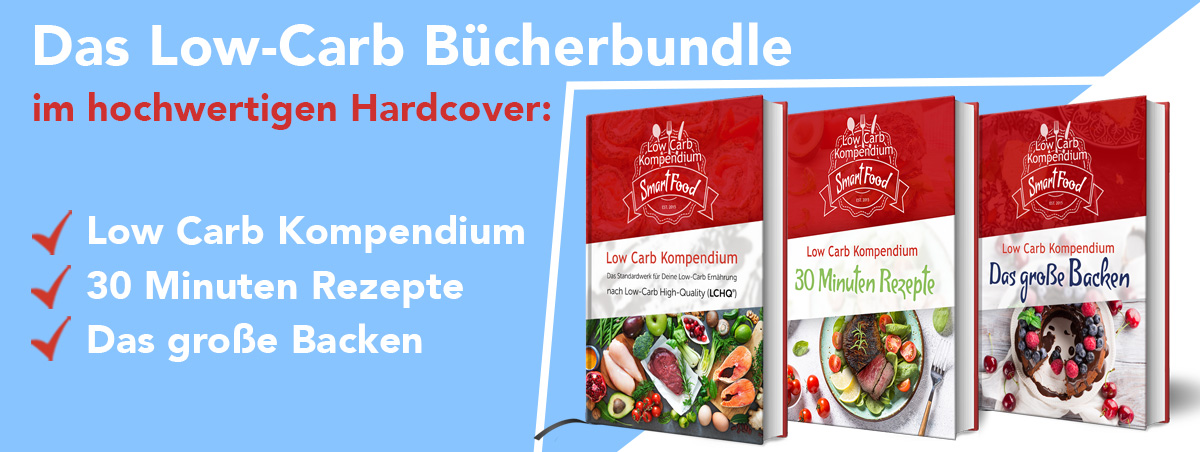 Das Low-Carb Bücher-Bundle